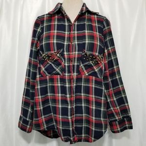 Forever 21 Flannel Button-up